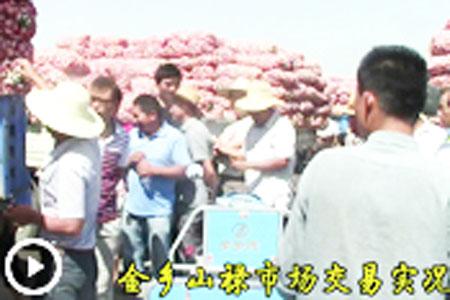 今有大蒜 卖于山禄 质优价廉 望君采购 【拍客:金乡正道蒜业】 ()