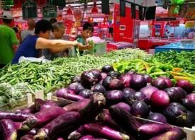 济南蔬菜价格上涨一两成
