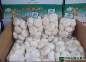 中国大蒜的国际竞争优势受到削弱 ()