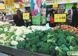 重庆:时令蔬菜价格整体回落 ()