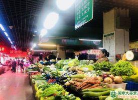 青岛市:菜价季节性上涨