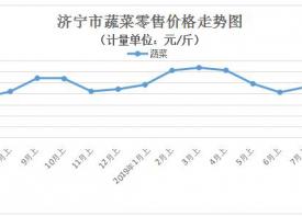 山东济宁:近期菜价上涨