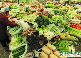河北:蔬菜价格稳中有涨 ()