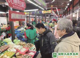 上海:货量充足 菜价平稳 ()