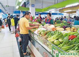 海南儋州:供应受阻 菜价上行