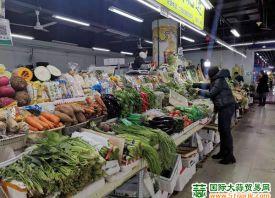 哈尔滨:菜价小幅上涨 ()