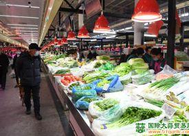 北京八里桥:菜价稳中有降